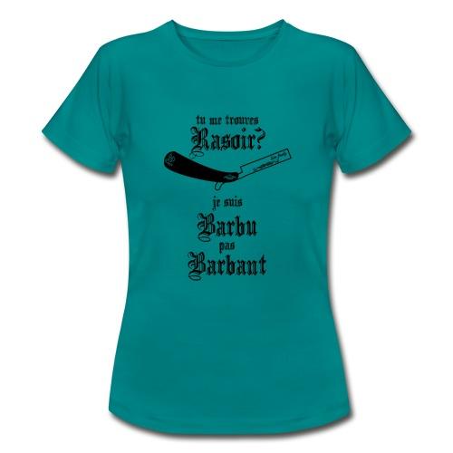live freely rasoir - T-shirt Femme