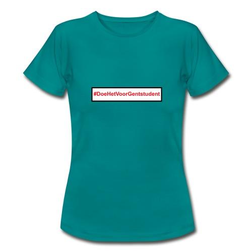#DoeHetVoorGentstudent - Vrouwen T-shirt