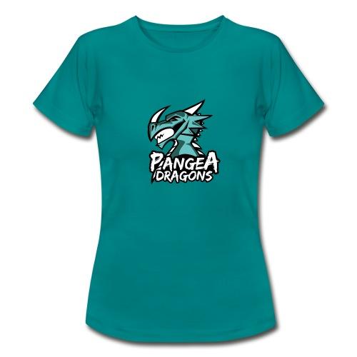 PanGea Dragons - Aqua - Frauen T-Shirt