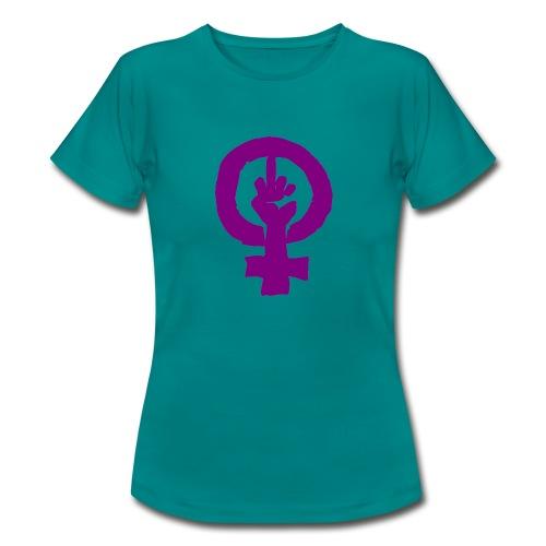 feminismo - Camiseta mujer