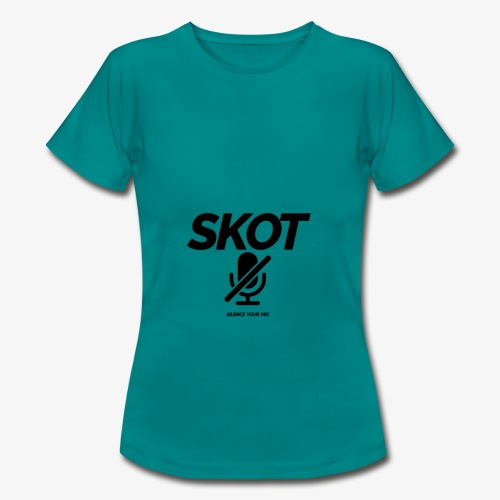 SKOT - Silence Your Mic - Vrouwen T-shirt