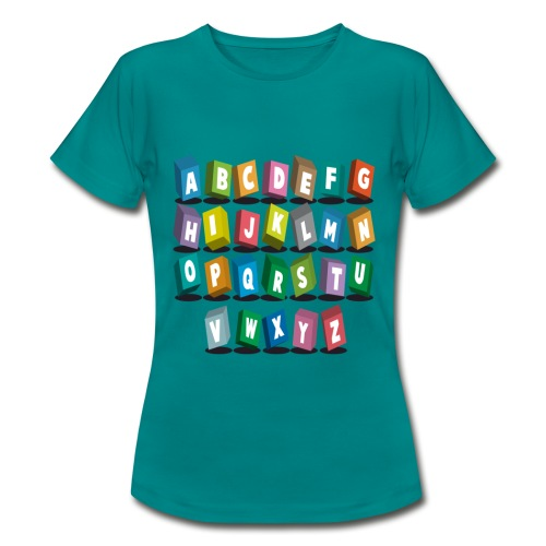 alphabet pour votre ... - T-shirt Femme