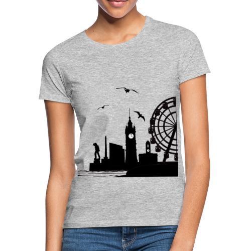 Silhouette of Margate - Women's T-Shirt