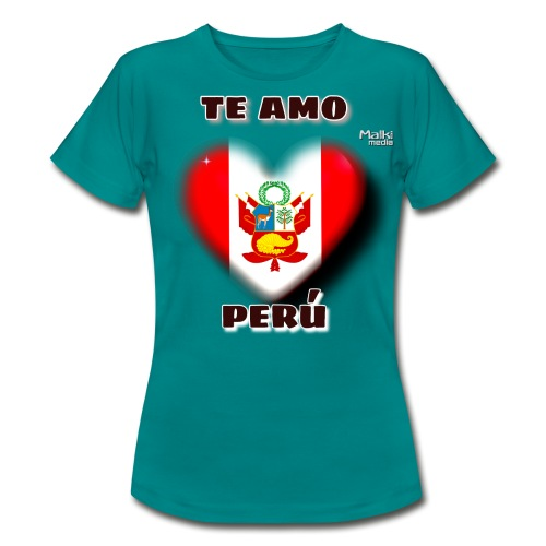 Te Amo Peru Corazon - Women's T-Shirt
