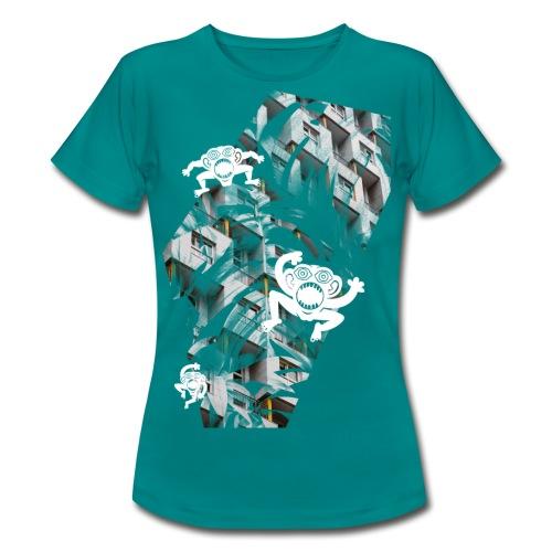 concretejungle - elephantkiwi - Frauen T-Shirt