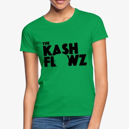 The Kash Flowz Official Black - T-shirt Femme