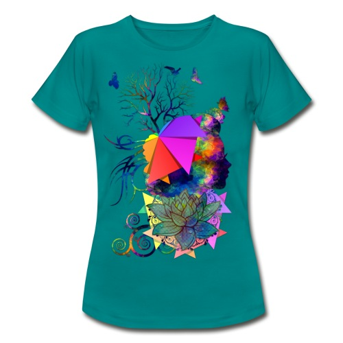 Lady Colors by T-shirt chic et choc - T-shirt Femme