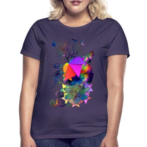 Lady Colors by T-shirt chic et choc - T-shirt Femme
