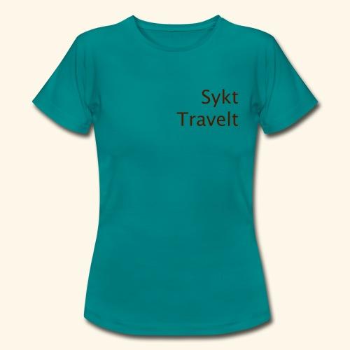 Sykt Travelt - T-skjorte for kvinner