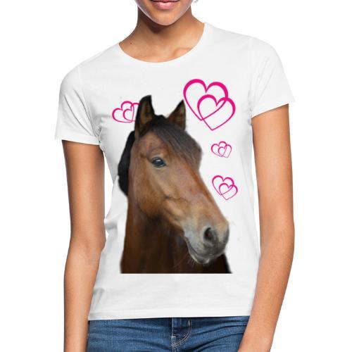 Hästälskare (Musse) - T-shirt dam