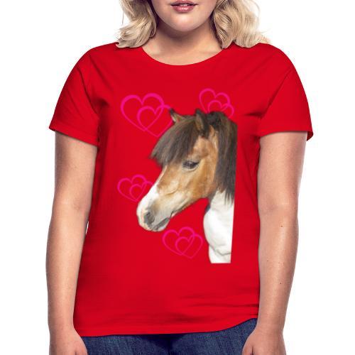 Hästälskare (Bella) - T-shirt dam