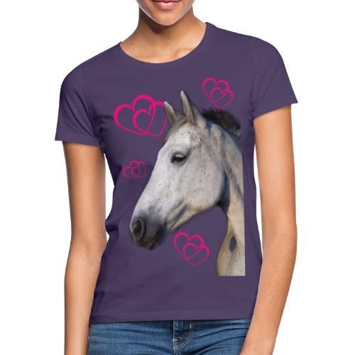 Hästälskare (maya) - T-shirt dam
