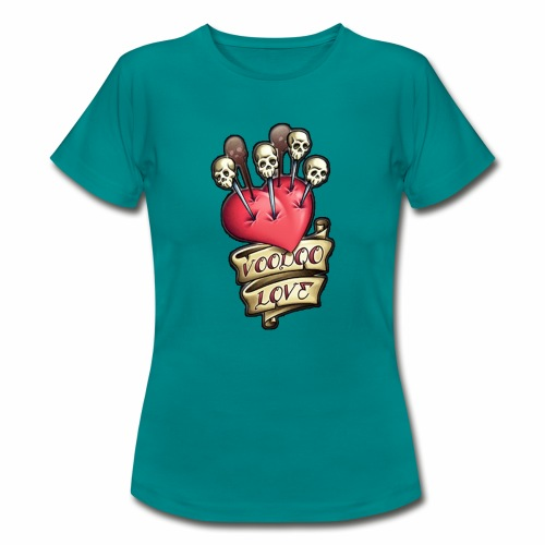 AMOR VOODOO - Camiseta mujer
