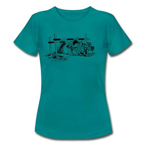Thelwell Cartoon Pony Sturz - Frauen T-Shirt