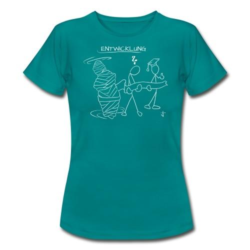 Entwicklung WS - Frauen T-Shirt
