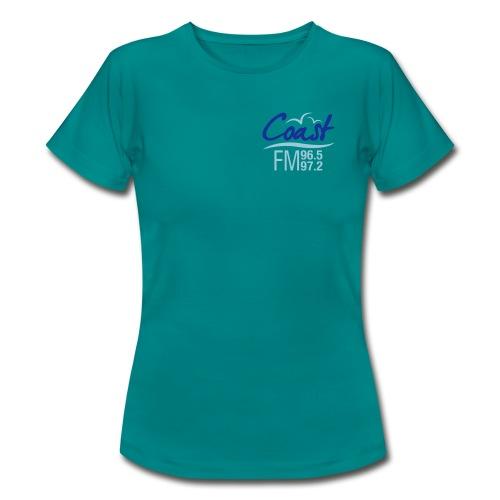 Coast FM colour logo - Women's T-Shirt