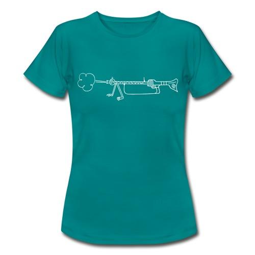 Maschinengewehr 34 - Frauen T-Shirt
