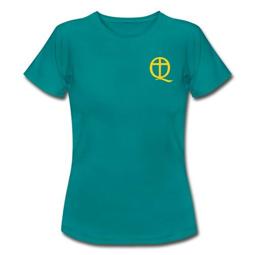 QC Gul - T-shirt dam