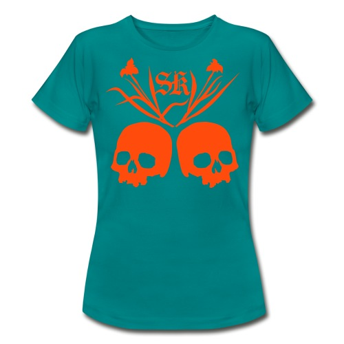 Plantskulls front and back - Vrouwen T-shirt