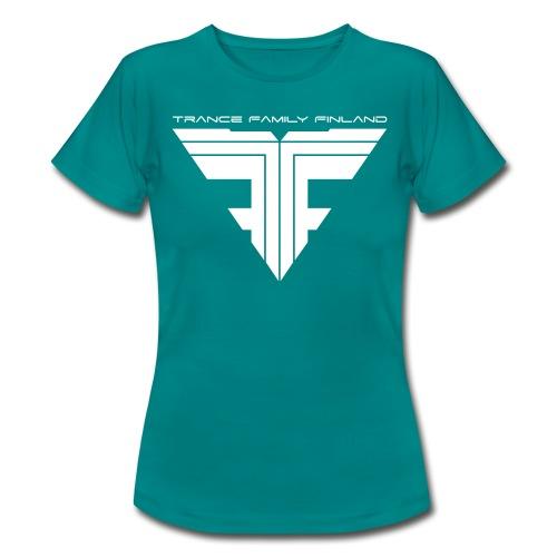 TFF Logo White - Naisten t-paita