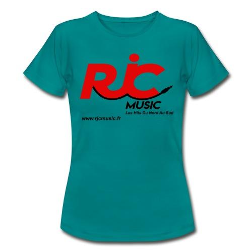 RJC Music avec site - T-shirt Femme