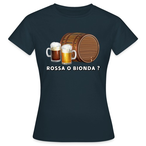 Rossa o Bionda ? - Maglietta da donna