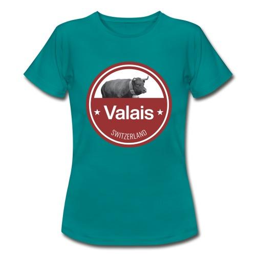 Wallis - Vache d'Hérens Schweiz - Frauen T-Shirt
