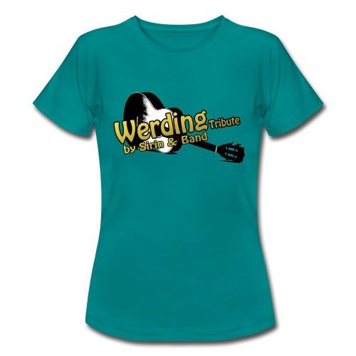 Logo Gitarre Werding - Frauen T-Shirt
