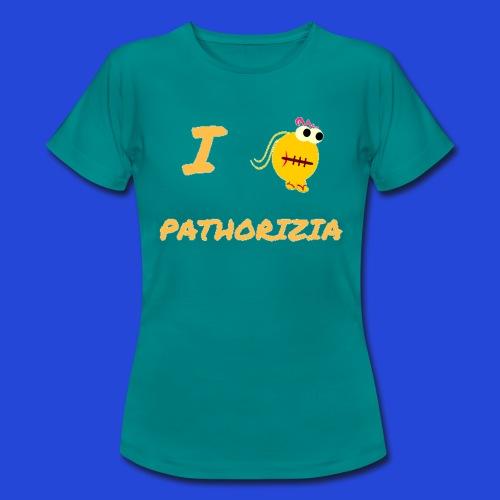 Love Pathorizia - Maglietta da donna