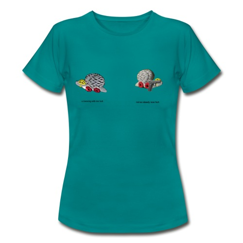 stunt snigel - T-shirt dam