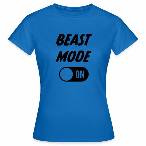Ruokatauon Beast Mode - Naisten t-paita