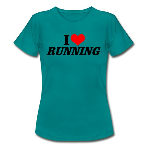 I love running - Frauen T-Shirt