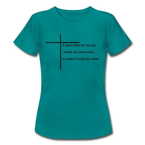 Jesus - Dame-T-shirt