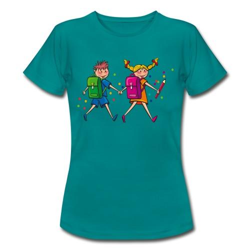 Schulkinder - Frauen T-Shirt