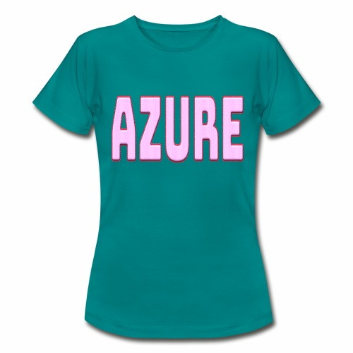 AZURE - T-shirt Femme