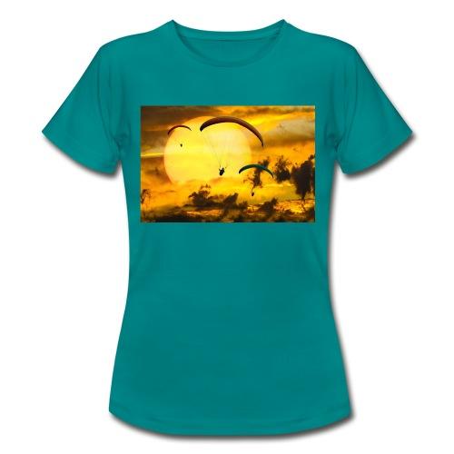 paragliding -Shah - Frauen T-Shirt