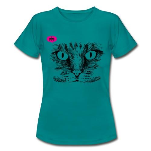 kattegezicht vdh - Vrouwen T-shirt