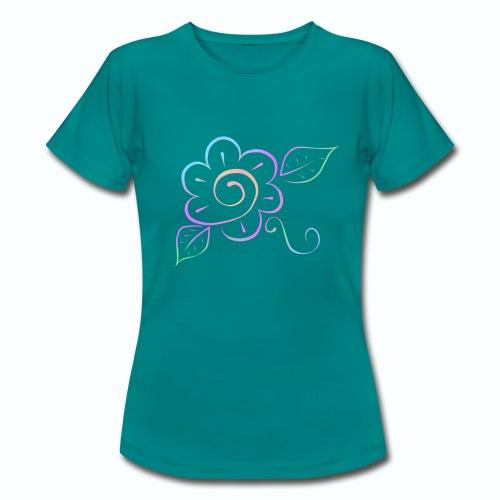 Tonalidades de en flor - Camiseta mujer