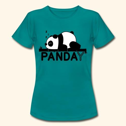 Panday print design - Dame-T-shirt