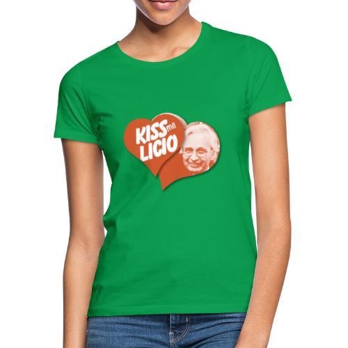 Kiss Me Licio - Maglietta da donna