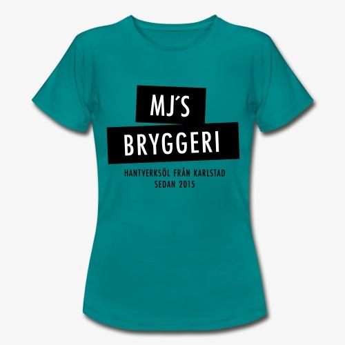 MJs logga - T-shirt dam