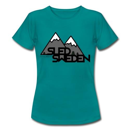 SledSweden Logo - T-shirt dam