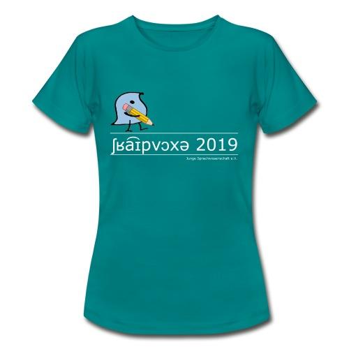 Schreibwoche 2019 (weiße Schrift) - Frauen T-Shirt