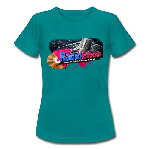 LOGO RADIOPITCH - T-shirt Femme