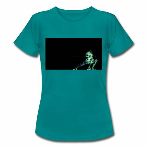 green ninja from PDCM - Vrouwen T-shirt