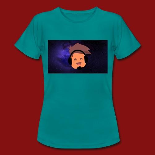 ProfilBild RymdBakgrund - T-shirt dam