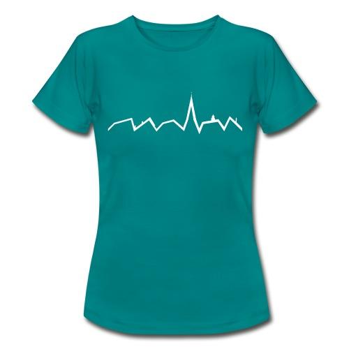 Heartbeat ohne Schriftzug - Frauen T-Shirt