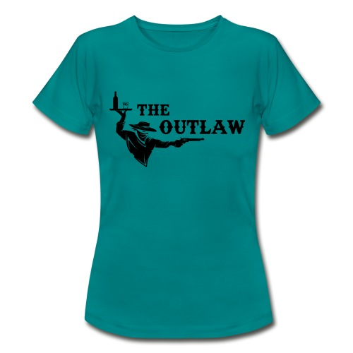 outlaw saloon - T-shirt Femme