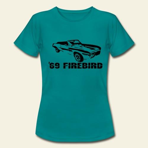 firebird small - Dame-T-shirt