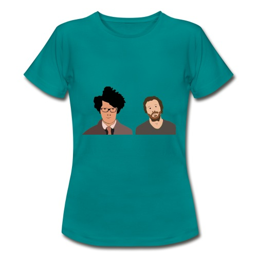 The IT Crowd T-Shirt Moss and Roy - Women's T-Shirt